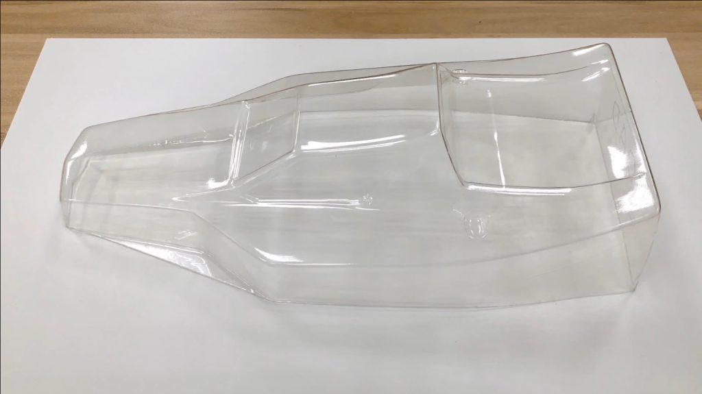 利用真空成型機(真空吸塑機)製作遙控車殼