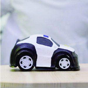 FORMART小型真空成型機(桌上型真空吸塑機)製作彩繪玩具小車