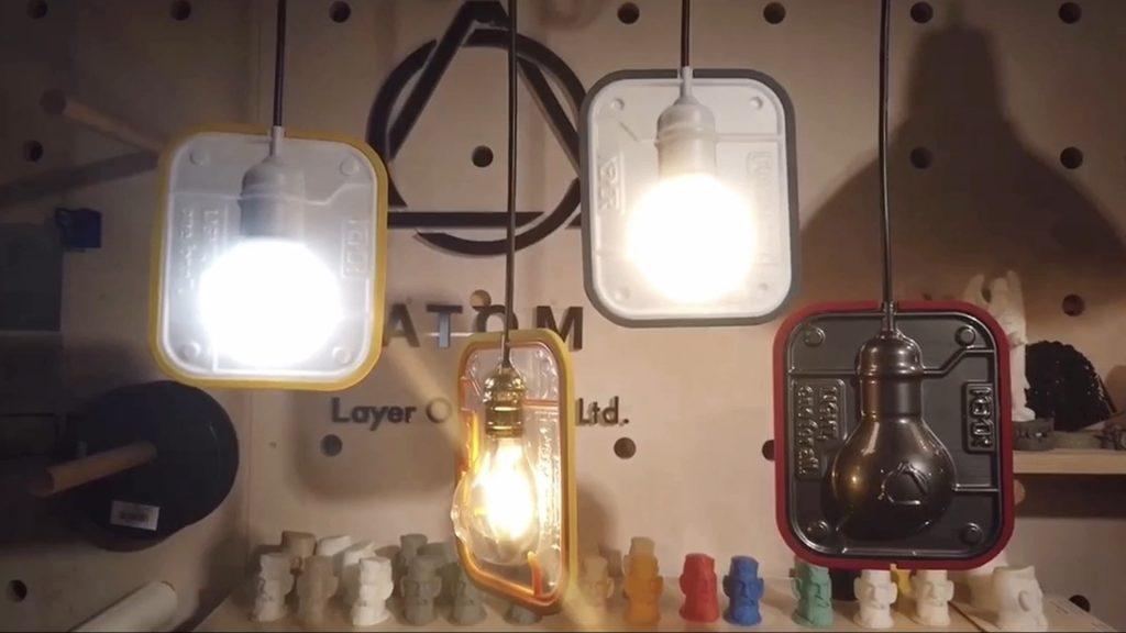 FORMART小型真空成型機(桌上型真空吸塑機)製作燈殼燈罩
