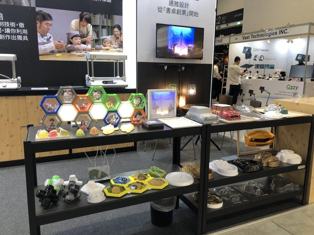 用桌上型真空成型機製作的各種作品