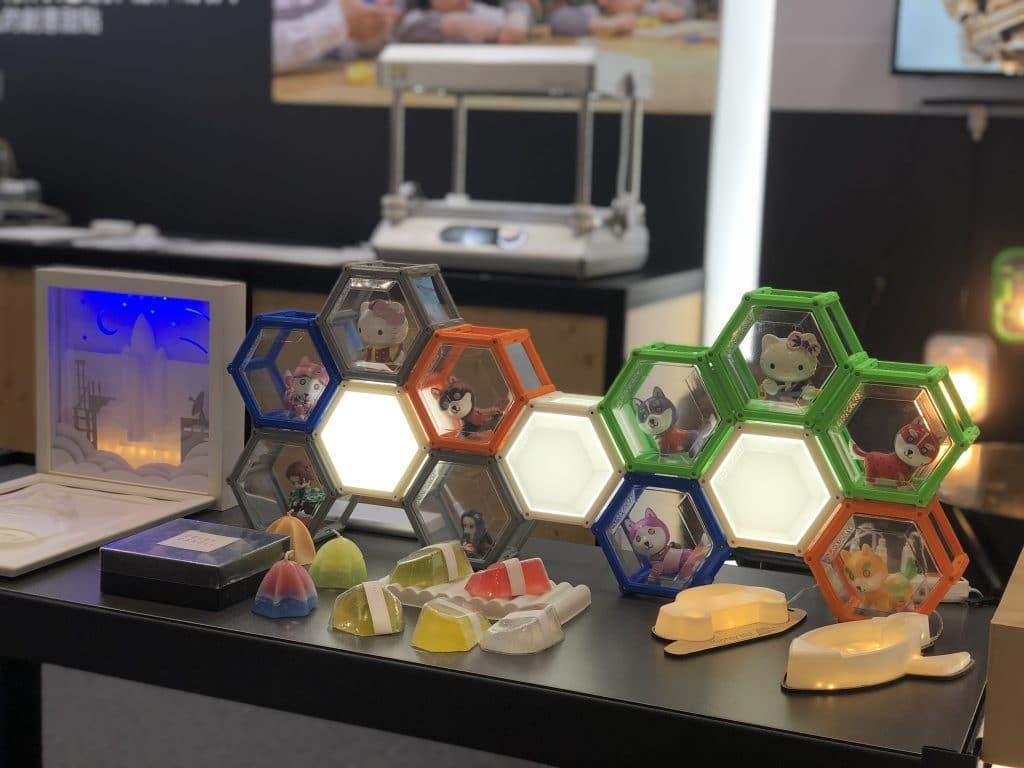 桌上型真空成型機-製作的酷炫展示框