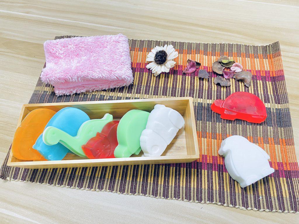 用真空成型製作的手工皂